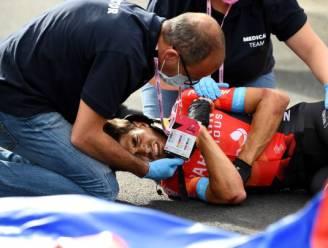 Nieuwe beelden tonen impact van crash waarbij Landa sleutelbeen brak, Spanjaard morgen al onder het mes