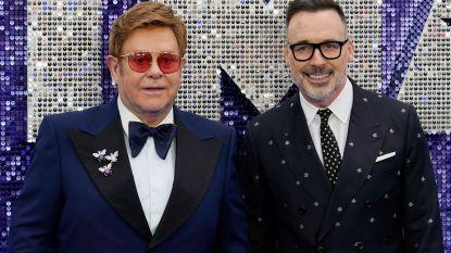 """Echtgenoot Elton John: """"Ik was bang om samen met hem 'Rocketman' te kijken"""""""