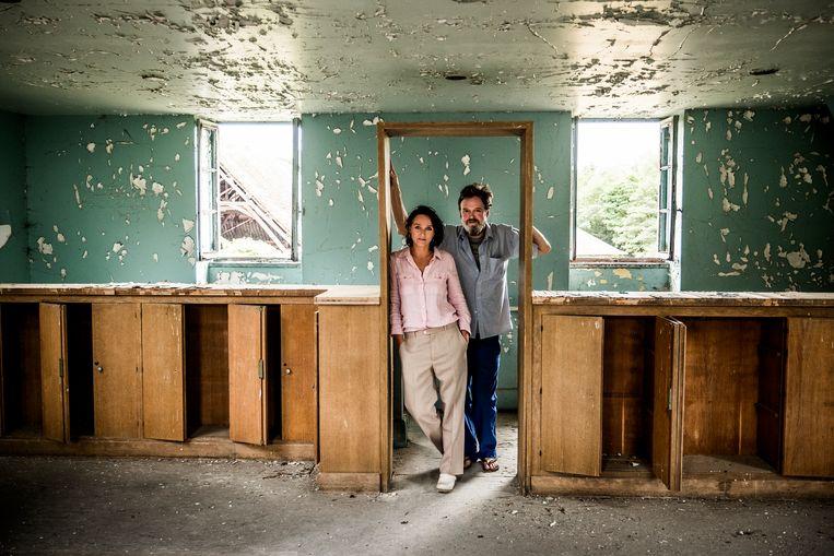 Nadia Naveau en Nick Andrews. Beeld Diego Franssens