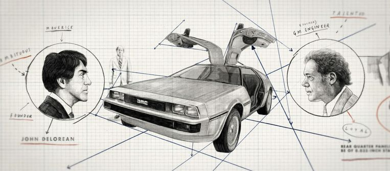 DeLorean: Back from the Future Beeld BBC/Fired Up Films