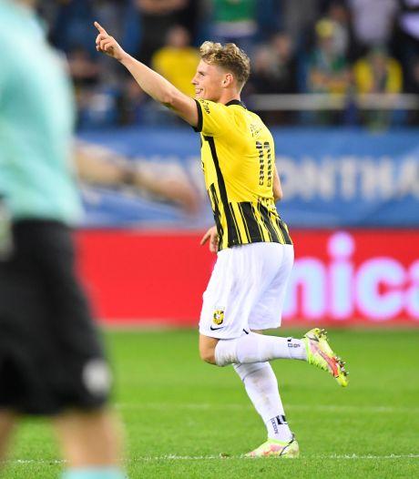 Spits Baden Fredriksen na goal voor Vitesse: Had dit heel hard nodig