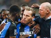 Vormer knalt Club Brugge met twee goals naar zege en koppositie