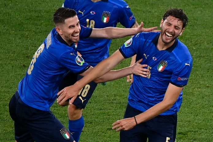 Europees kampioen Italië.