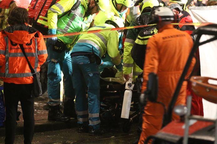 Man gered na explosie in gebouw Den Haag