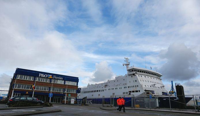De Albanezen hoopten met de ferry in het Verenigd Koninkrijk te geraken.