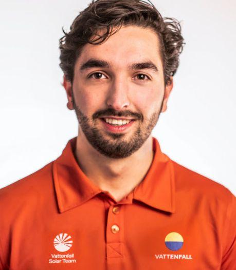 Swen (22) uit Duiven bouwt de snelste zonneauto ter wereld