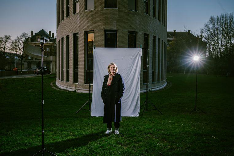 VUB-rector Caroline Pauwels is de curator van de 24ste editie van Theater aan Zee. Beeld Wouter Van Vooren