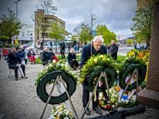 Sobere dodenherdenking in Schiedam
