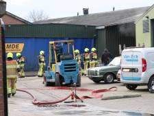 Brand bij machinebouwer in Echteld