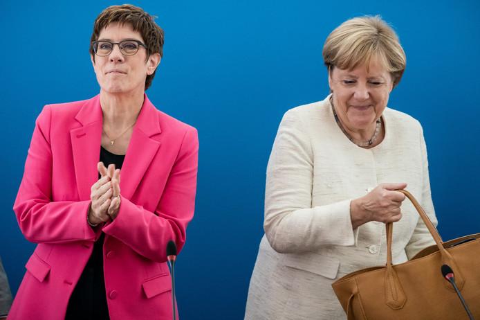 Annegret Kramp-Karrenbauer a succédé à Angela Merkel à la tête du CDU