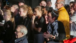 Ook fans van Kim Clijsters moeten nog onder stoom komen