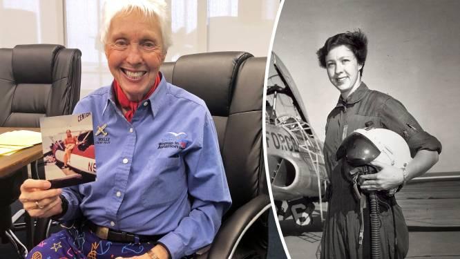 Zestig jaar gewacht en nu mag ze eindelijk de ruimte in: naast Bezos zit straks 82-jarige 'Wally' Funk