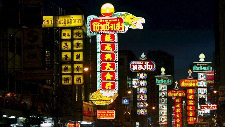 Chinatown in Bangkok. Beeld null