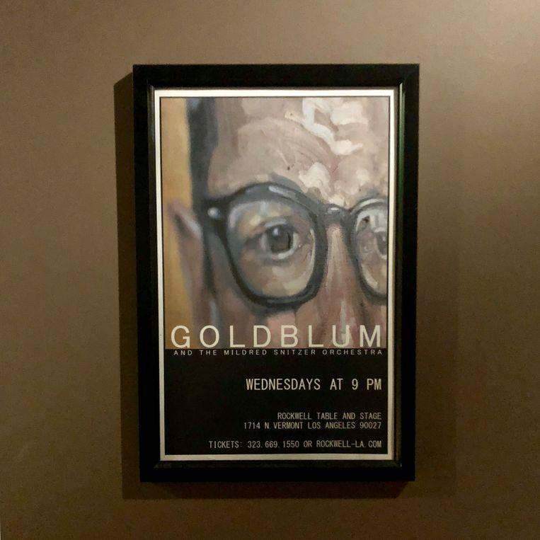 Jeff Goldblum speelt elke woensdag een concert in Los Angeles. Onder de radar, want nooit groot geafficheerd. Beeld Robin Broos