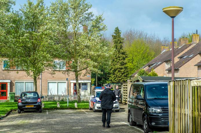 De politie deed onder meer een inval in een woning in het West-Brabantse Oudenbosch.