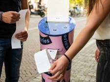 Koffie? Nee, uit deze automaat in Utrecht komen verhalen rollen