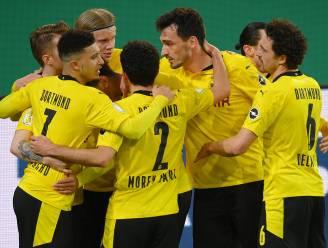 Dortmund naar halve finales Duitse beker na zuinige zege bij Mönchengladbach