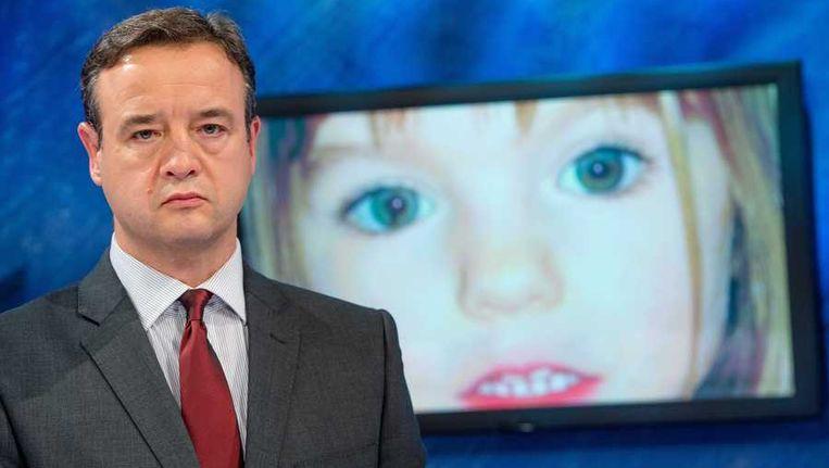 De Britse hoofdinspecteur Andy Redwood in het onderzoek naar de verdwijning van Madeleine. Beeld anp