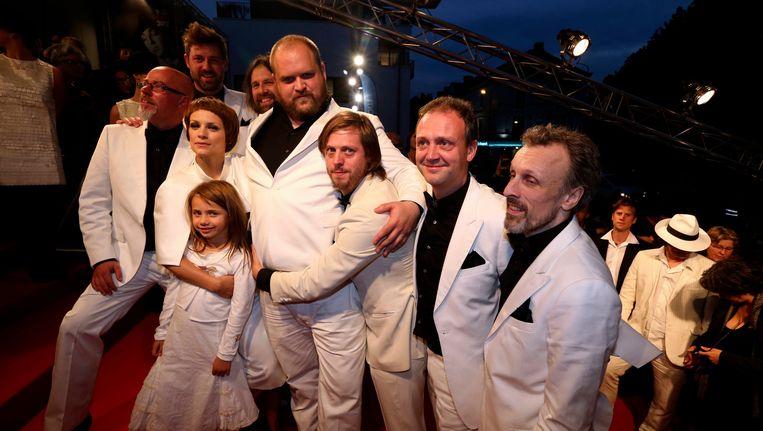 Cast van 'The Broken Circle Breakdown' Beeld BELGA