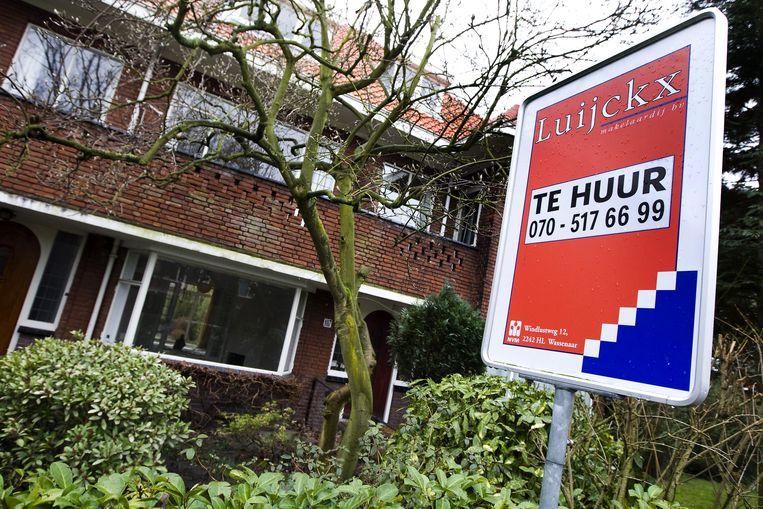 Steeds meer particuliere woningkopers houden hun vorige woning vast als belegging. Beeld ANP XTRA