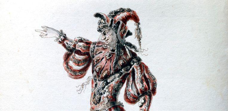 De 'Betoverde held' uit Lully's opera 'Amadis' hangt in het Louvre. Beeld Print Collector/Getty Images
