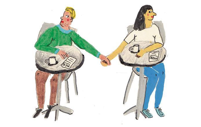 De echte namen van Amina en Mark zijn bij de redactie bekend. Wil je ook geïnterviewd worden over je relatie? magazine@persgroep.nl