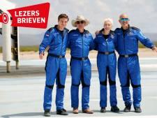 Reacties op commerciële ruimtevlucht: 'En ik moet wel aan het klimaat denken?'