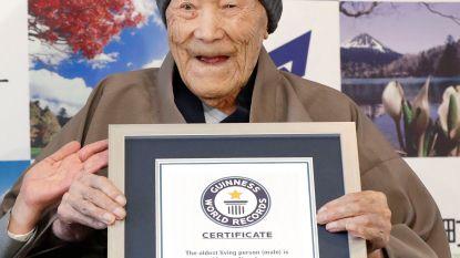 Oudste man ter wereld sterft op z'n 113de
