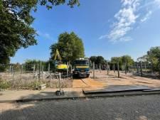 Deventer krijgt drie padelbanen bij Borgelerbad: 'Hopelijk in november spelen'