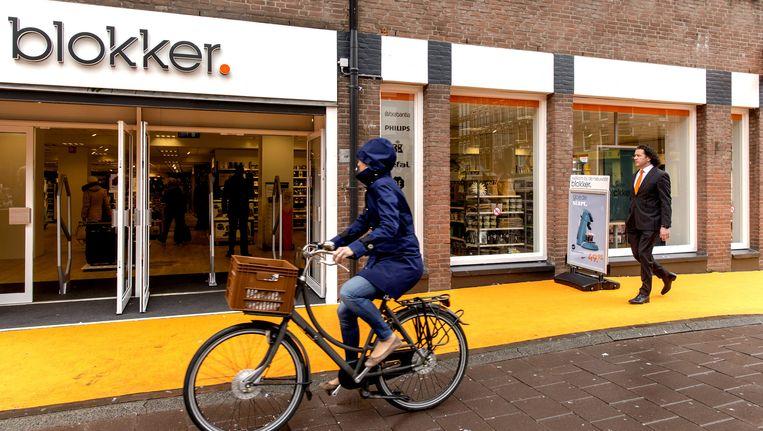 De Blokker in de Amsterdamse Bilderdijkstraat. Beeld anp