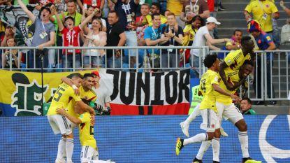 Colombia plaatst zich toch: buffelstoot Yerry Mina zorgt voor bijzonder zure WK-exit voor Senegal