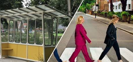 Ilse DeLange imiteert The Beatles & nostalgisch bushokje in Rekken