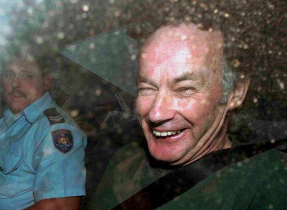 Seriemoordenaar Ivan Milat in 1997.