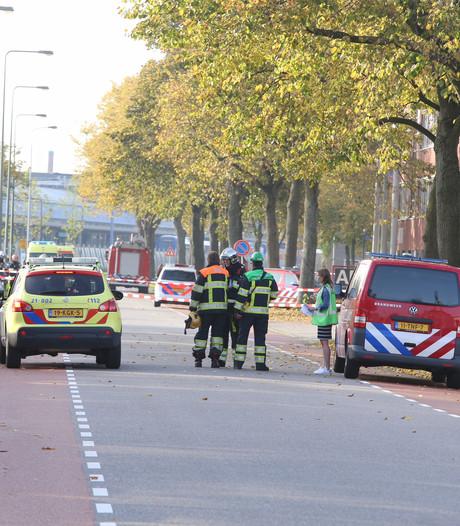 Ammoniakfles ontploft in bedrijfspand Den Bosch; 'Er was best paniek'