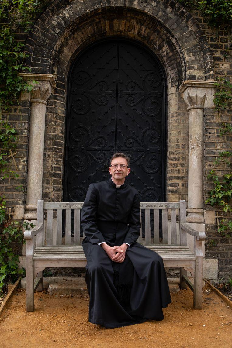 David Ackerman: 'Nu zegt Canterbury in wezen dat de kerk niet essentieel is.' Beeld ©Antonio Olmos