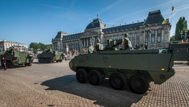 Defensie doet voor zo'n 40 miljoen euro nieuwe aankopen. Beeld BELGA