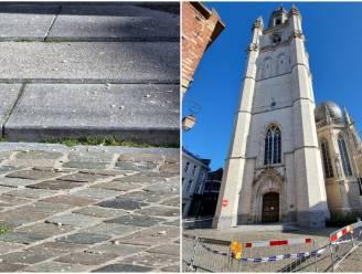 """Experts onderzoeken hoogste torens nadat brokstukken van Sint-Martinusbasiliek vallen: """"Zodat volledige veiligheid gegarandeerd blijft"""""""