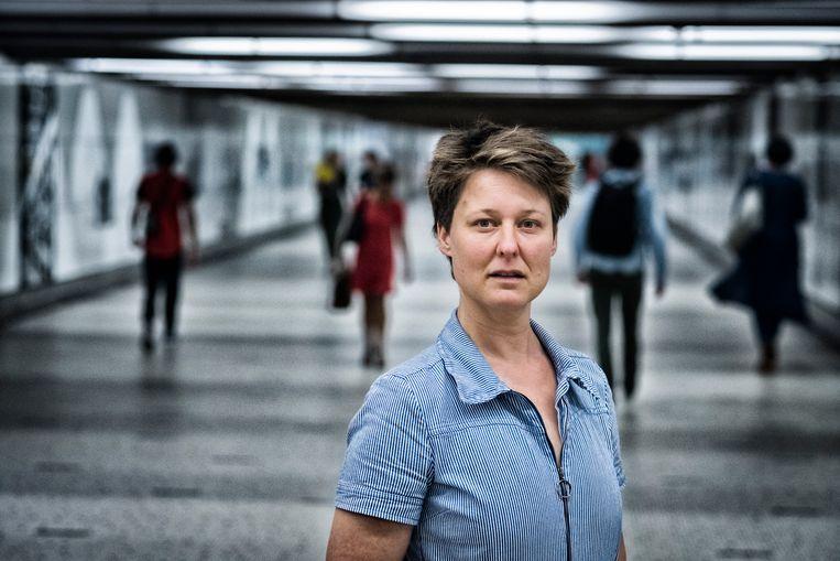 Judith Vanistendael, striptekenares en illustratrice: 'In dit boek werd  ik helemaal meegezogen.' Beeld Tim Dirven