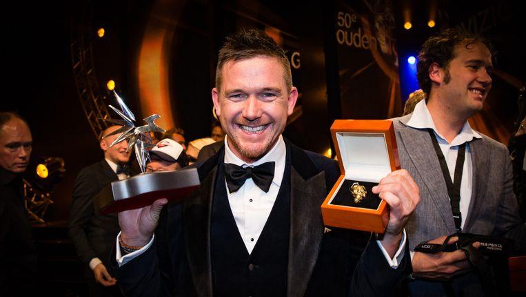Syndroom van Johnny de Mol won dit jaar de Gouden Televizier-Ring. Beeld anp