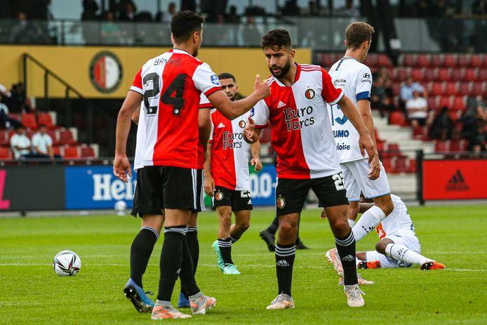Naoufal Bannis bepaalt de eindstand op 1-1.