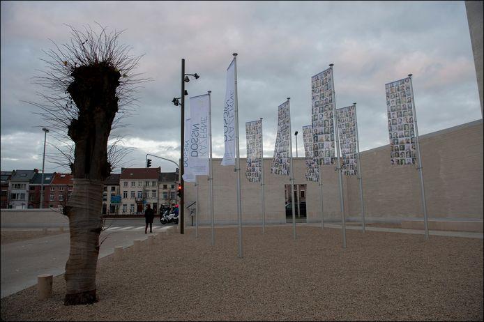 La Kazerne Dossin, musée malinois consacré à l'Holocauste et aux droits de l'homme.