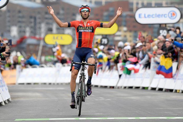 Winnaar Vincenzo Nibali.