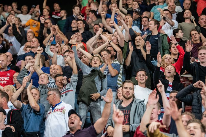 Fans FC Twente.