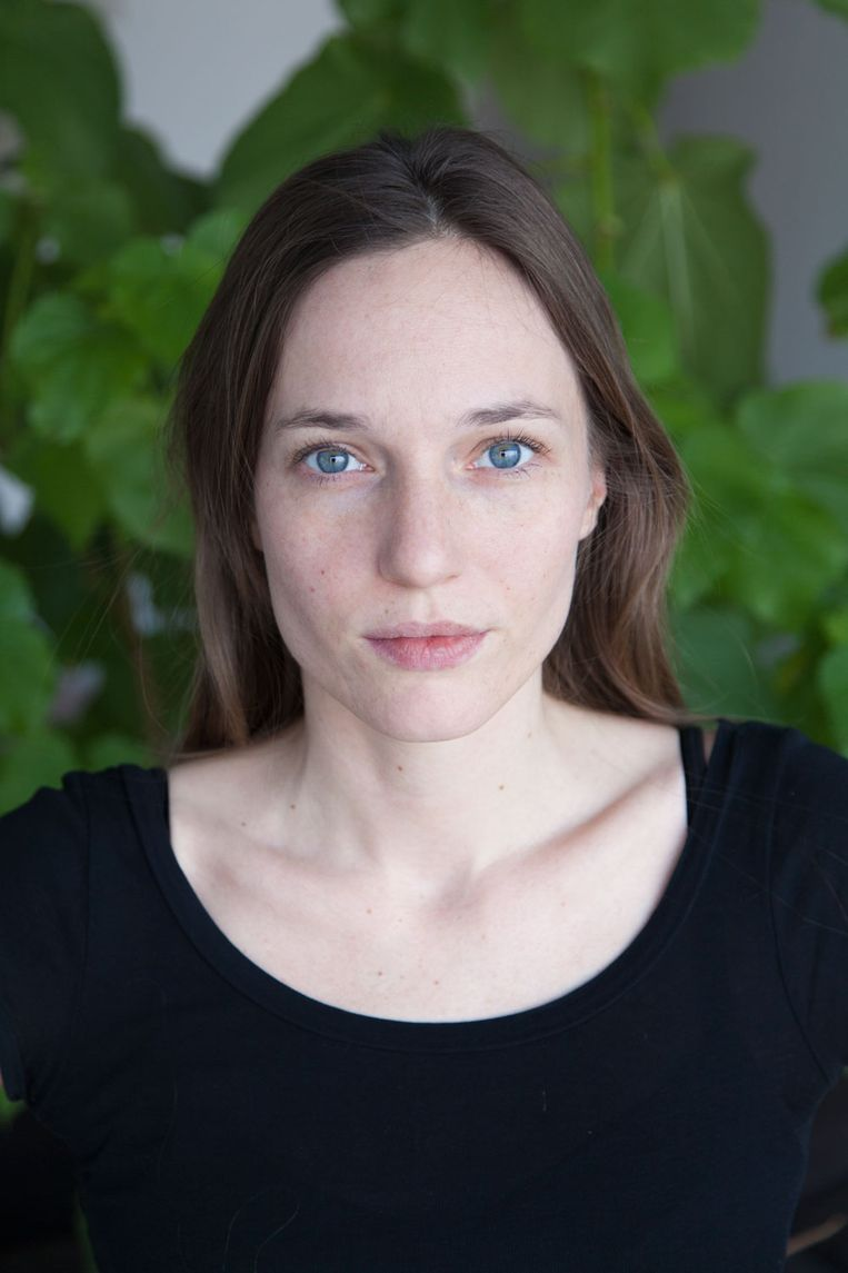 Pasfoto Donna van Milligen Bielke - Foto © Sanne van Hecke Beeld Sanne van Hecke