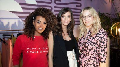 IN BEELD. Astrid, Eline en Tatyana stellen hun nieuwe kledingcollectie voor