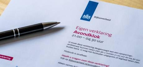 Avondklok in Meierijstad: 211 boetes in drie maanden tijd