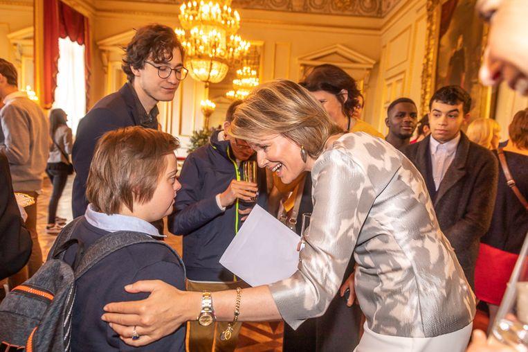 Het project van Brake-Out met Rijvers trok zelfs de aandacht van koningin Mathilde. Enkele jongeren werden op het Paleis ontvangen.