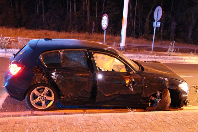 Het ongeval gebeurde op de Europalaan in Zele.
