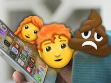 Roodharigen en een droevige drol: de nieuwe emoji op je mobiel