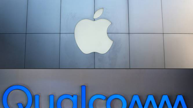 Chipfabrikant Qualcomm krijgt miljarden van Apple